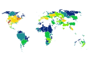 Global Non-Native Freshwater Fish Species Richness